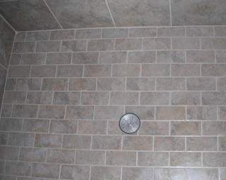 Grout sealing on tile in Raleigh, NC